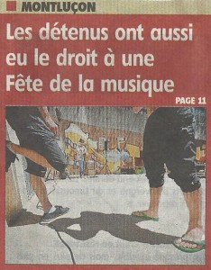 PRESSE - Article concert 24.06.2015 - 1
